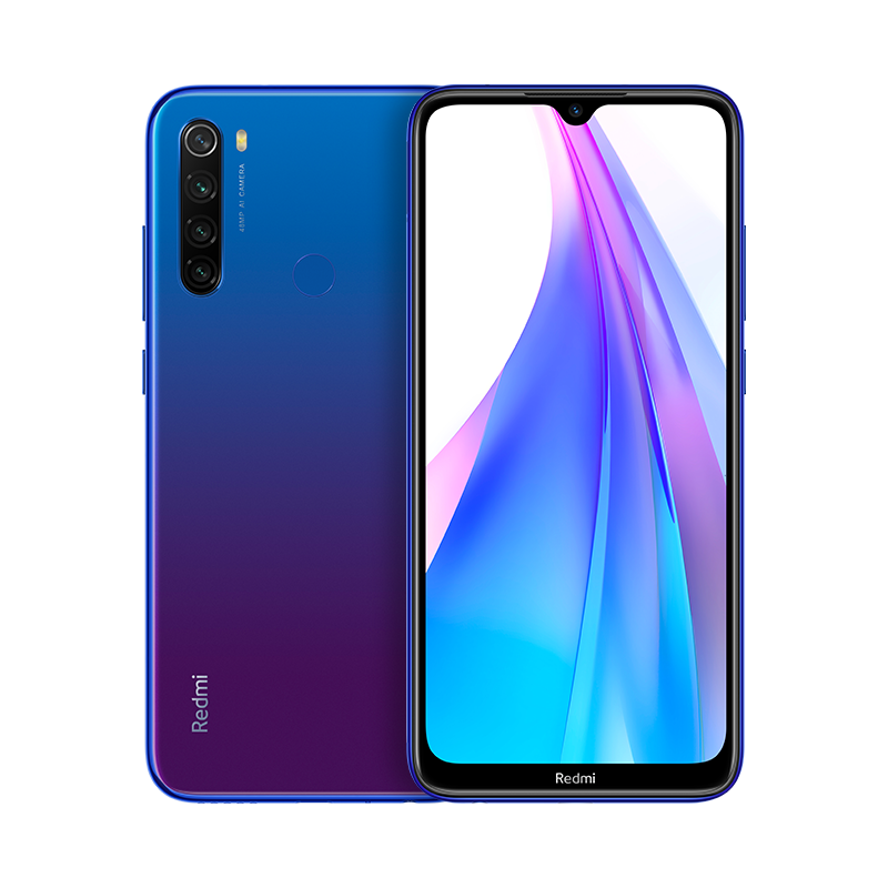 Redmi Note 8T Синий 3 ГБ + 32 ГБ