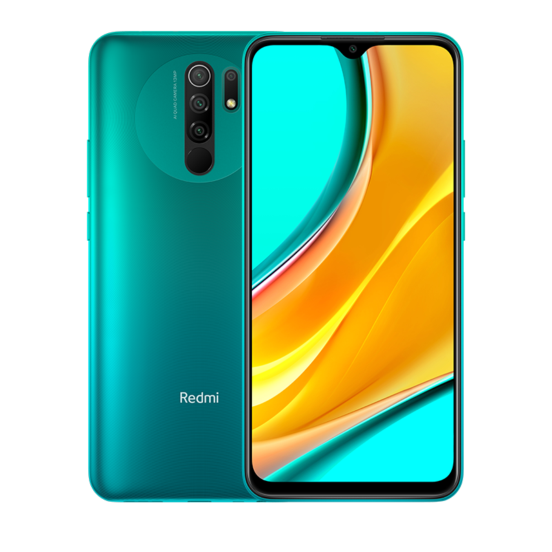 Redmi 9 Зеленый 3 ГБ + 32 ГБ