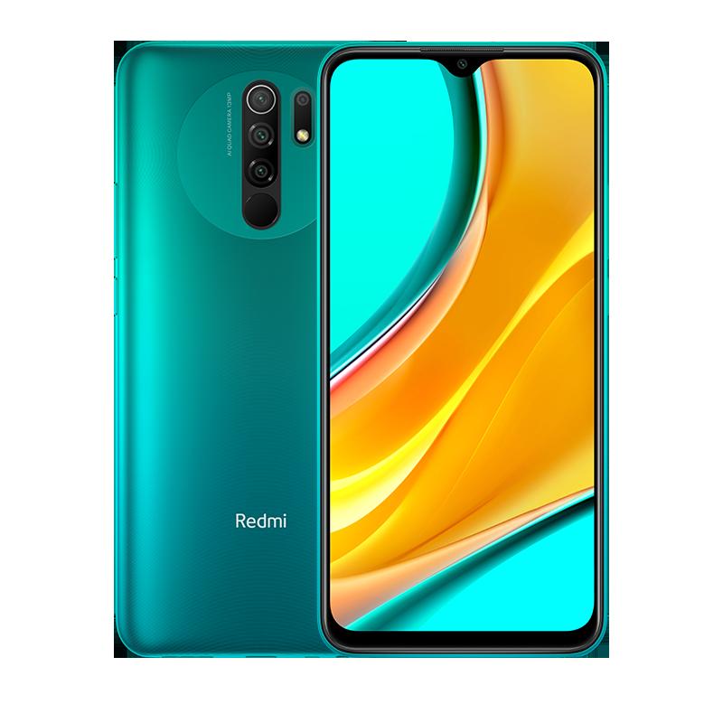 Redmi 9 Зеленый 4 ГБ + 64 ГБ