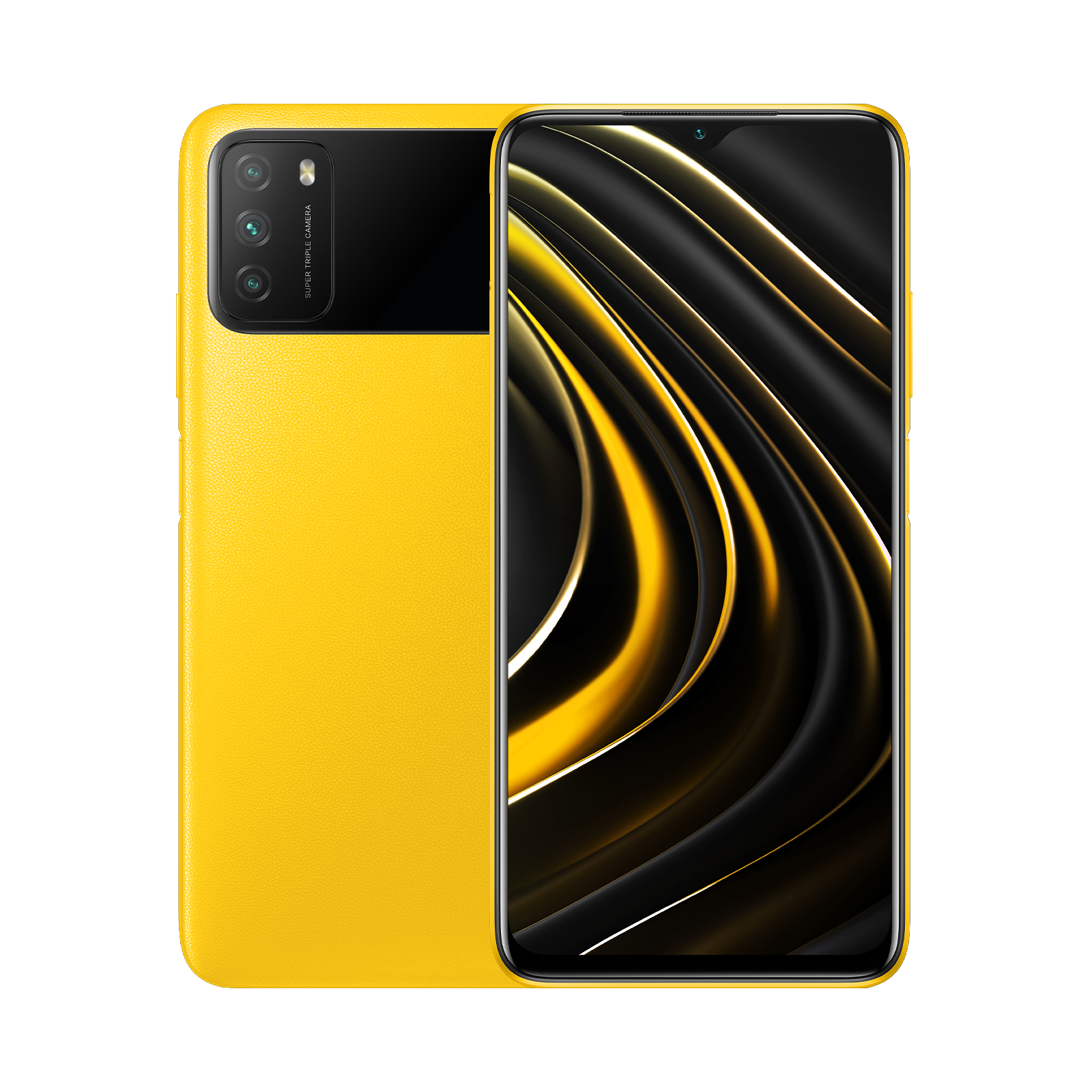 POCO M3 Желтый 4 ГБ + 128 ГБ