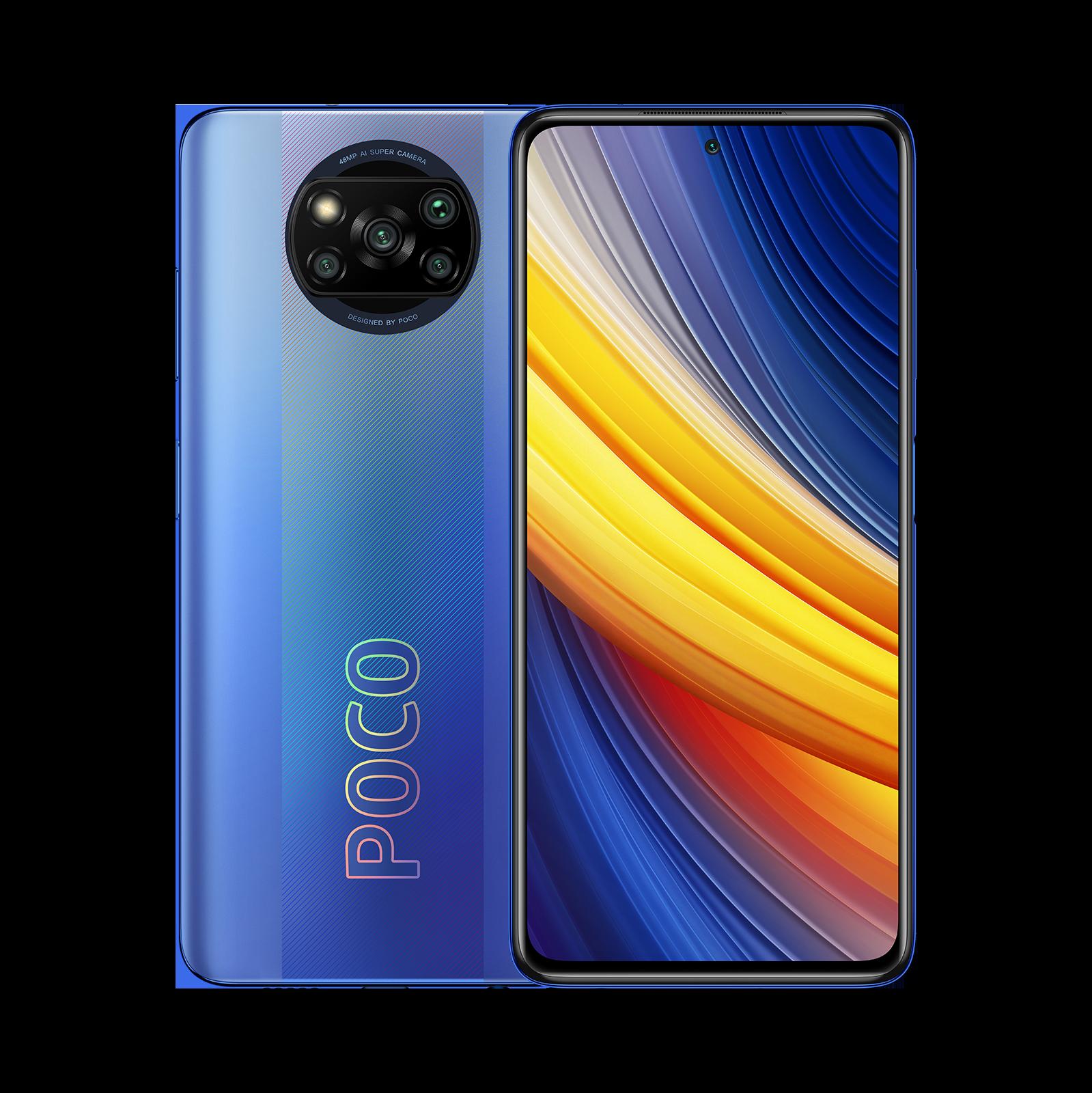 POCO X3 Pro Синий 8 ГБ+256 ГБ