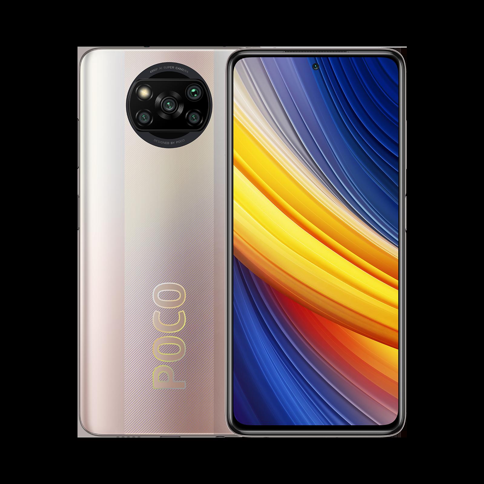 POCO X3 Pro Золотой 6 ГБ + 128ГБ