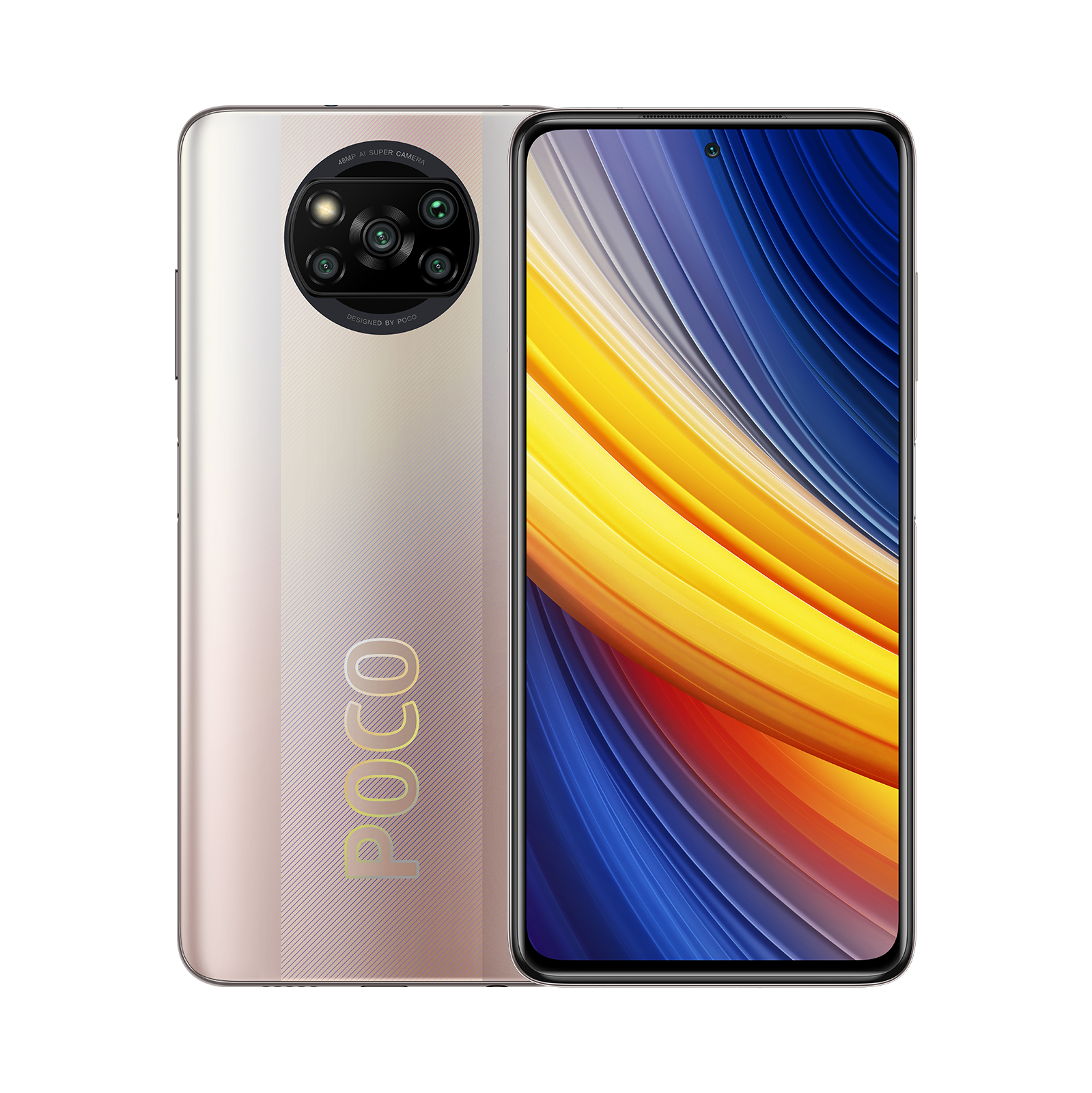 POCO X3 Pro Золотой 8 ГБ+256 ГБ