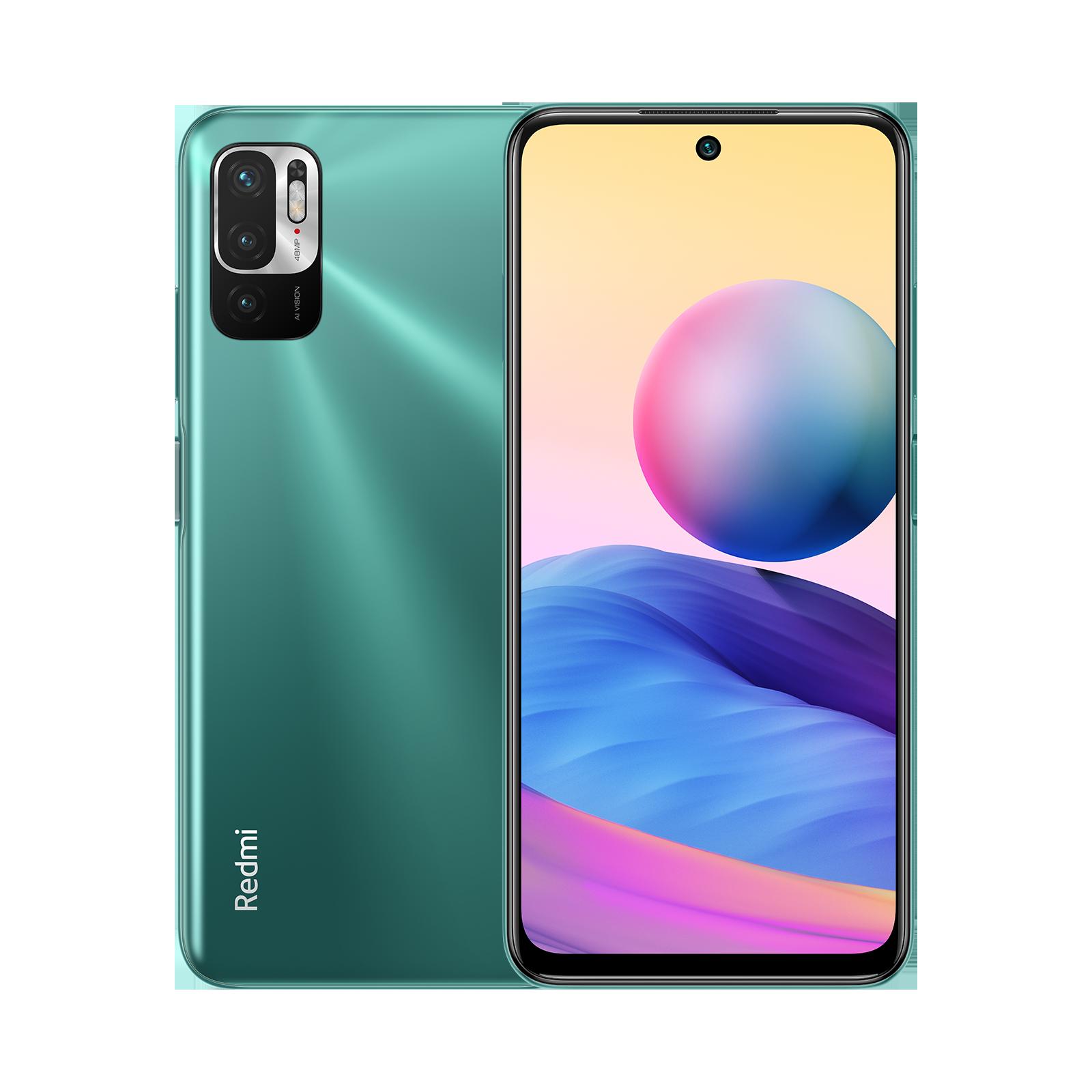Redmi Note 10T Зеленый 4 ГБ + 128 ГБ